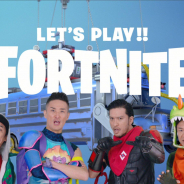 Epic Games、TOKIO出演の『フォートナイト』の新TVCM12月28日より放映開始