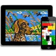 コンセプティス、パズルアプリ『コンセプティス スクエアピクト』のiOS版を配信開始 盤面に隠された絵を完成させていくパズルゲーム