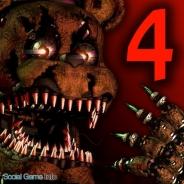 【米App Storeランキング(8/8)】売り切り型ホラーゲームの『Five Nights at Freddys'4』が18位にランクイン 『Criminal Case』はトップ30復帰