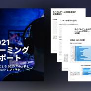 ユニティ、2020年のパンデミックによるゲームプレイヤーの行動変化をまとめた「2021ゲーミングレポート」の日本語版を無償公開