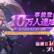 GAMEVIL COM2US Japan、今秋配信予定のスマホ向け3D MMORPG『ヴェンデッタ』で事前登録数が10万人を突破!