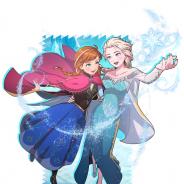 ミクシィ、『スタースマッシュ』 で「アナ」「エルサ」「オラフ」が獲得できるイベント「アナと雪の女王 JANUARY OPEN」を開始!