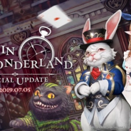 Netmarble、『リネージュ2 レボリューション』で「不思議の国のアリス」をモチーフにした特別なアップデートを7月5日に実施!