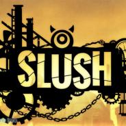 """GOODROID、パズルゲーム『SLUSH(スラッシュ)』を配信開始 ブロックを切って敵に当てる""""爽快""""物理パズルゲーム"""