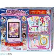 セガトイズ、スマホ型トイ「ディズニーキャラクター マジカルポッド」と専用ソフト「おしゃれコーディネートショップ」のセットを11月より販売開始