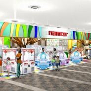 クレーンゲーム機が充実したファミリー向けアミューズメント施設「namcoラソラ札幌店」が11月27日にオープン!