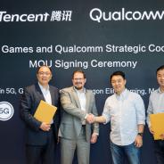 クアルコムとテンセントゲームスが提携 モバイルゲーミング端末、5G、クラウドゲーミングなどで協力へ