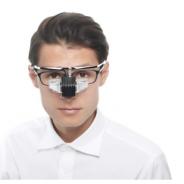 メガネスーパーのビジョナリーホールディングス、眼鏡型ウェアラブル端末「b.g.」を2019年4月から企業向けに提供へ