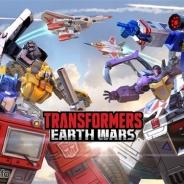 米HasbroとBackflip Studios、英Space Ape Games、新作リアルタイム対戦STG『トランスフォーマー:アースウォーズ』の日本版を配信開始!