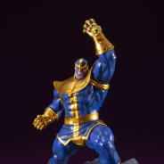 コトブキヤ、最強のヴィラン「サノス」のフィギュアを6月に販売開始 ガントレットを左手に掲げた征服者の風格
