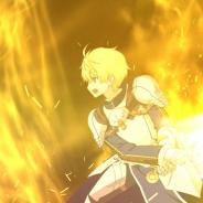 FGO PROJECT、『Fate/Grand Order』で「★5(SSR)アーサー・ペンドラゴン〔プロトタイプ〕」の宝具演出公開!
