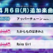 スクエニとサンリオ、『SHOW BY ROCK!! Fes A Live』で「たからものはきみと」「Rainy Girl」など3曲を追加