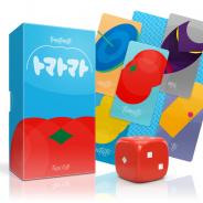 オインクゲームズ、新作ボードゲーム『トマトマト』『フロッサムファイト』を同時発売