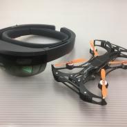 ホロラボ、HoloLensの音声認識とジェスチャーを使ったドローンナビゲーションを開発 インフラ点検などへの活用に期待