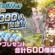gumi、事前登録実施中の『セレンシアサーガ:ドラゴンネスト』の公式Twitterフォロワー数が1万人を突破 「ダイヤ」合計600個のプレゼントが確定