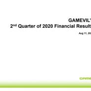 Gamevil、第2四半期の営業利益は108億ウォン(9.6億円)と黒字転換 野球ゲーム中心に好調、Com2usも貢献