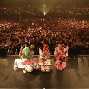 """『Tokyo 7th シスターズ』内のガールズバンドユニット「4U」、1stライブ『The Pres""""id""""ent 4U』を敢行! 東京・大阪で合計6000人のファンが熱狂!"""