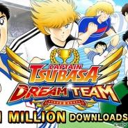 KLab『キャプテン翼 ~たたかえドリームチーム~』のグローバル版『Captain Tsubasa: Dream Team』がわずか1週間で100万DL突破!