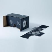 スマホで安価に簡単VR WHITE、タッチUI搭載のダンボール製VRゴーグル「みるボックスタッチ」を1月中旬に発売