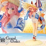 コトブキヤ、『Fate/Grand Order』の期間限定イベントに登場した水着姿の「ランサー/玉藻の前」のフィギュアを2017年10月に発売!