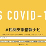 経済産業省と総務省、内閣官房、コロナウイルスに対応した企業による無償・割引支援サービスをまとめた「#民間支援情報ナビ」を公開
