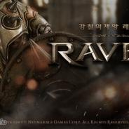 Netmarble Games、超大作モバイルアクションRPG『レイヴン with NAVER』が韓国App Store、Google Playでセールスランキング1位を獲得