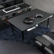 ビーズ、ゲーミング家具ブランド「Bauhutte」より「ゲーミングちゃぶ台」を発表 天板昇降機能と収納ネットが付いた小型ゲーミングデスク