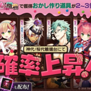 DMM GAMES、『一血卍傑-ONLINE-』で祭事特効英傑ピックアップを開催 神代鶺鴒台、 桜代鶺鴒台から生まれる確率がアップ!