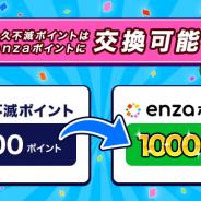 セゾンカード、「永久不滅ポイント」の交換対象としてBXDの「enzaポイント」を追加!