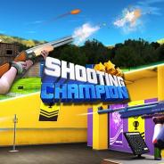 ネクストキューブ、オリンピック公式種目である射撃3種目を楽しめる『射撃で世界1位★SHOOTING CHAMPION』をauスマートパスで配信開始