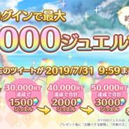 Cygames、『プリンセスコネクト!Re:Dive』のRTキャンペーンで目標の5万RTを達成! 明日7月30日に全ユーザーにジュエル3000個をプレゼント