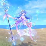 X-LEGEND ENTERTAINMENT、『幻想神域 -Link of Hearts-』に声優の本渡楓さん演じる新幻神「【水霊の乙女】ウンディーネ」が登場!