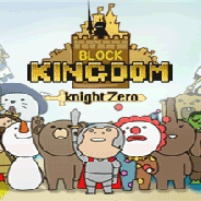四荒八極、カジュアルロールプレイングゲーム『ブロックキングダム』をauスマートパス向けにサービスを開始 左・右画面をタッチしモンスターを倒そう!