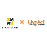 CRI・ミドルウェア、Staff Techサービス「STAFF START」を運営するバニッシュ・スタンダードと提携 「LiveAct PRO」が動画投稿機能の基盤技術に