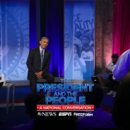 abcNEWS、オバマ大統領が市民と対話する番組で人種問題について語った360度VR動画を公開中