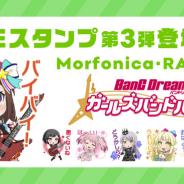 ブシロードとCraft Egg、『ガルパ』のLINE公式スタンプ第3弾を11月12日にリリース決定!