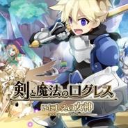 マーベラス、『剣と魔法のログレス いにしえの女神』で300万DL達成を記念したイベント・キャンペーンを実施