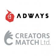 アドウェイズ、制作管理ツール「AdFlow」を提供するクリエイターズマッチとブランドマーケティング事業で業務提携