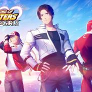 ビクターエンタテインメント・ゲームズ、スマホ向け『THE KING OF FIGHTERS for GIRLS』を始動!! 草薙京&八神庵が歌う主題歌PVも公開