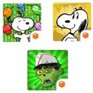 ビーライン、『スヌーピードロップス』『スヌーピーストリート』『ゾンビカフェ』で3アプリ連動キャンペーンを開始 全部遊んでプレゼントをGET!