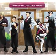 カプコンカフェ、イオンレイクタウン店『逆転裁判』シリーズコラボのメインビジュアルを公開!