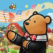 スクエニ、『くまぱら』4コマ漫画「ハッピー!くまちー」の連載をゲーム内で開始 主題歌「ハチミツ味のしあわせ」も配信開始