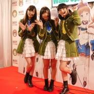 【TGS2015】オルトプラスの新作『Wake Up, Girls!パズルの天使』トークショウを実施…青山吉能さん、永野愛理さん、田中美海さんが応援に駆けつけた!