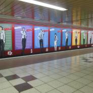 ブシロードとアカツキ、『新テニスの王子様 RisingBeat』1周年広告が新宿メトロプロムナードに登場!