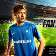 KLab、ネイマールJr.選手をイメージキャラクターに起用した『Fantastic Eleven』を全世界に提供開始!