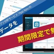 フラー、「App Ape」で蓄積する米国市場のスマートフォンアプリのデータの無料開放を期間限定で開始