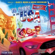 ホビーベースイエローサブマリン、 ボードゲーム「10DAYS IN THE USA日本語版」を2020年11月14日より発売