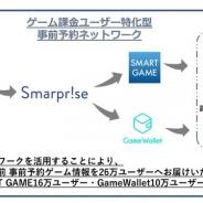 SmarpriseとCAモバイル、「ゲーム課金ユーザー特化型事前予約ネットワーク」の提供開始