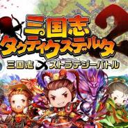 ITO GAMES、三国志シミュレーションRPG『三国志タクティクスデルタ2』を配信開始!