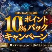 DMM GAMES、『Shadowverse』DMM GAMES版で「10%のポイントバックキャンペーン」を実施